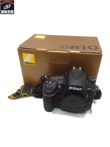 NIKON D810 デジタル一眼レフカメラ【中古】