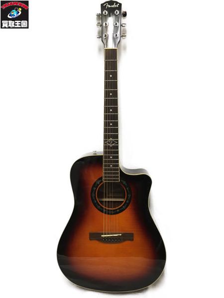 Fender エレアコ T-BUCKET 300CE 3TS ソフトケース付【中古】