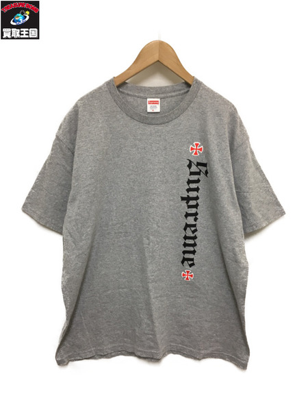 Supreme×Independent/17AW/Old English Tee【中古】