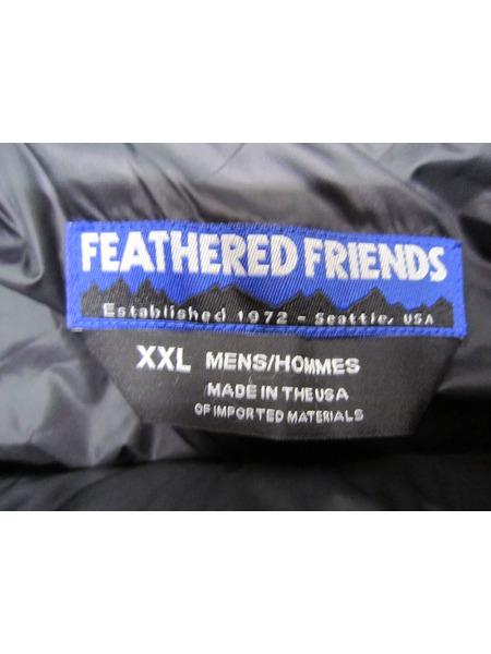 FEATHER FRIENDS ダウンジャケット XXL グレー フェザーフレンズK1Jc3TlF