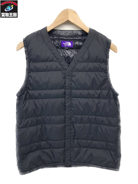 THE NORTH FACE PURPLE LABEL INNER DOWN VEST (S)【中古】
