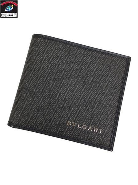 BVLGARI ウィークエンド 二つ折り財布【中古】