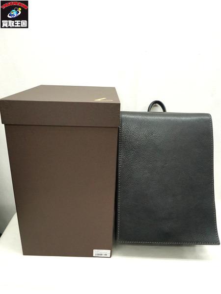 土屋鞄製造所/イタリアンレザー/OTONA RANDSEL/大人ランドセル/002wide/ブラック【中古】