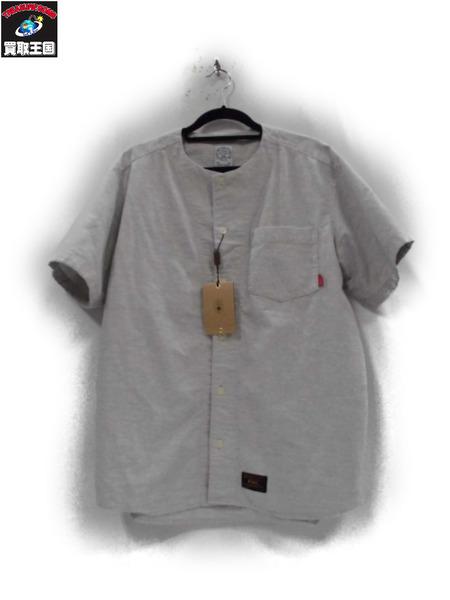 (W)TAPS 17SS ベースボールシャツ(M)【中古】