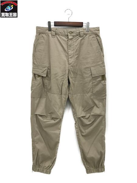 Engineered Garments×Pilgrim Surf+Suppl BIKE PANTS (M)ベージュ【中古】[▼]