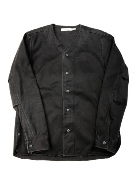 NONNATIVE HANDYMAN SHIRT COTT ON TWILL ブラック size:1【中古】