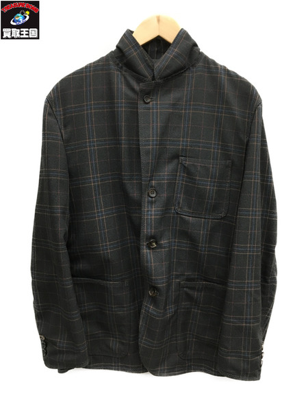 COMME des GARCONS HOMME チェックジャケット グレー AD2005【中古】