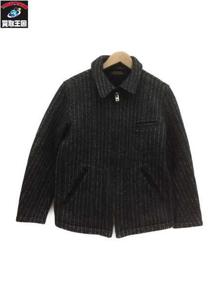 BROWN'S BEACH SPORTS JACKET(36) ネイビー【中古】[▼]