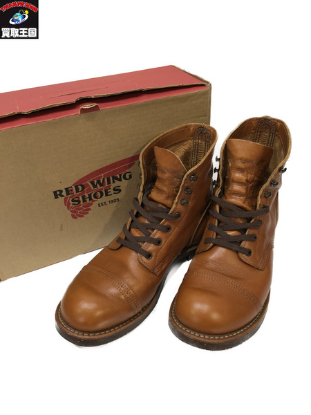 RED WING 8011 レースアップブーツ SIZE 8 1/2 (26.5cm) レッドウィング【中古】