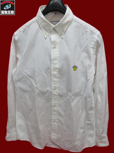 JACKSON MATISSE BDシャツ スマイル L/S WHT sizeS【中古】[値下]