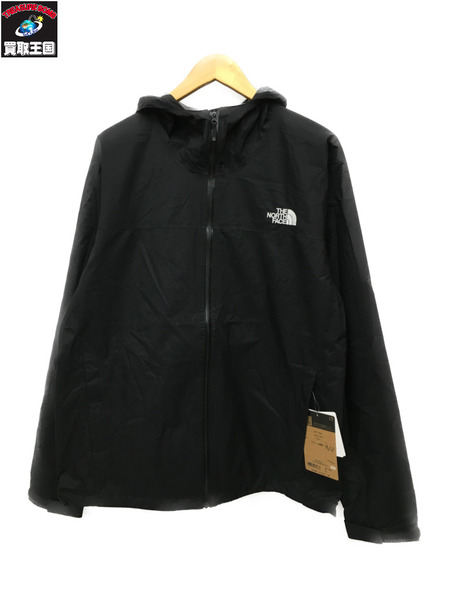 THE NORTH FACE Venture Jacket (XL) NP11536 ブラック【中古】