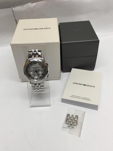 EMPORIO ARMANI AR1702 クロノグラフ 腕時計 エンポリオ アルマーニ クォーツウォッチPkuXZOTi