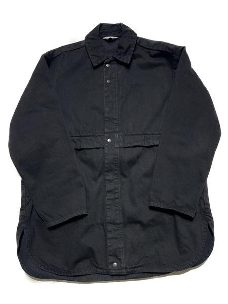 UNUSED/14oz DENIM JACKET/3/ブラック【中古】[▼]