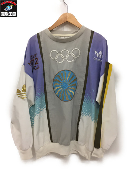 アディダス オールド 70s 1972 札幌オリンピック 刺繍カットソー(M)【中古】[値下]