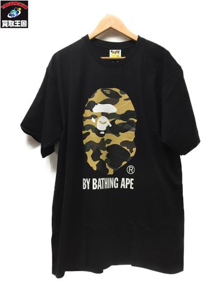 A BATHING APE S/S BIG APE HEAD TEE Size2XL BLK【中古】