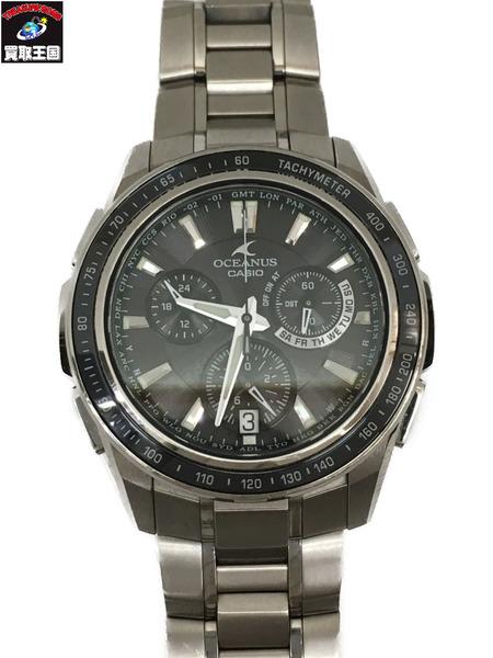 CASIO/OCEANUS/カシオ オシアナス マンタ/クロノグラフ/ソーラー/腕時計/OCW-S1050【中古】