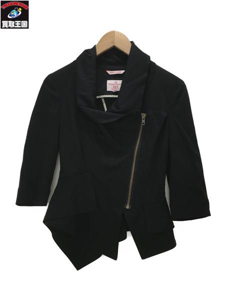 Vivienne Westwood red label レディースライダースZIPデザインジャケット(L) 【中古】