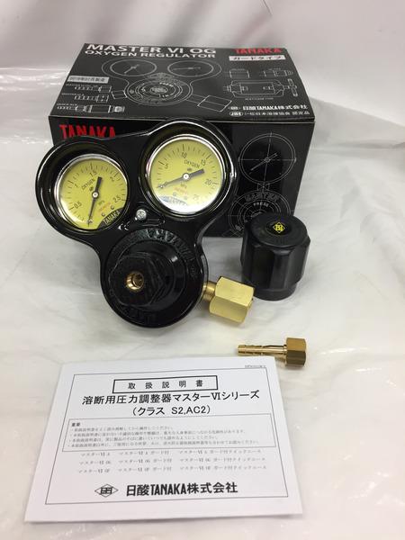 未使用 タナカ 酸素用圧力調整器 Q832C【中古】