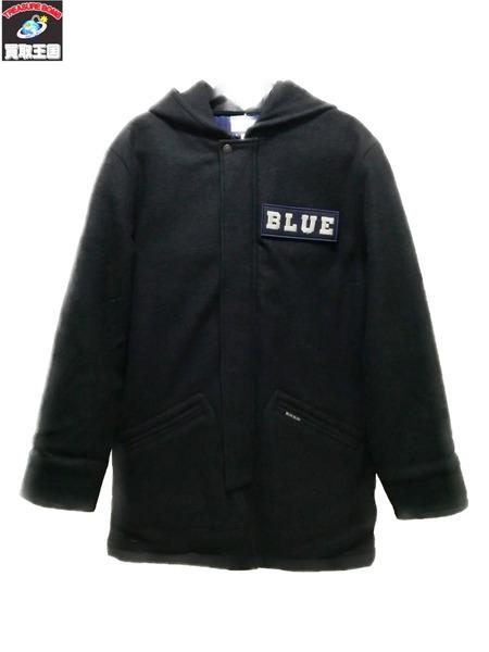 BLUE BLUE/700078653/シュリンクウール/カデットコート/M【中古】