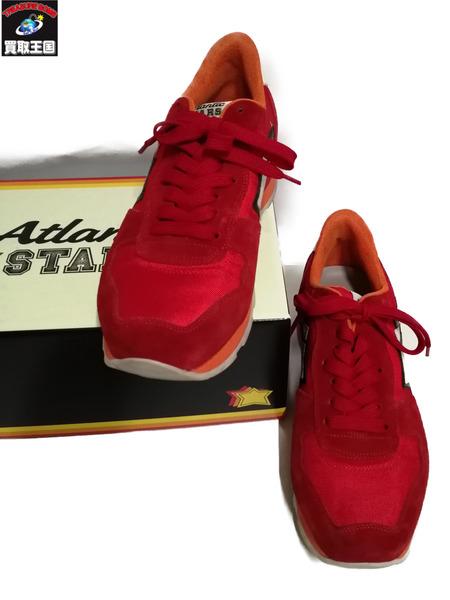 Atlantic Stars/スニーカー/41/RED【中古】[▼]