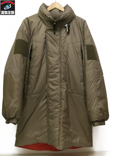 17AW DELUXE (SIZE/L) LEVEL 7 MONSTER PARKA BEIGE【中古】