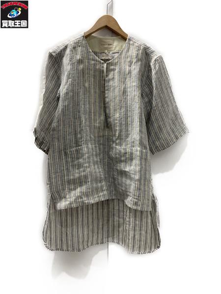 NICHOLAS DALEY ニコラスデイリー17SS フロントスリットシャツ サイズ40【中古】