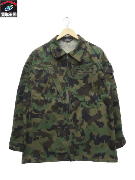スイス軍実物 TAZ90迷彩 ジャケット(L)+パンツ+帽子 3点セット【中古】