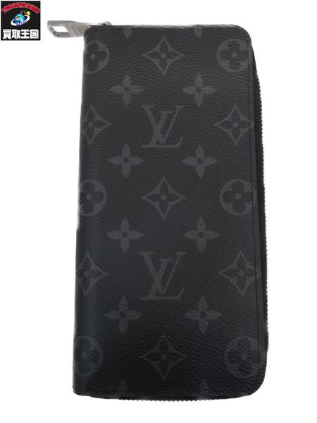 LV モノグラムエクリプス ジッピーウォレットヴェルティカル M62295【中古】