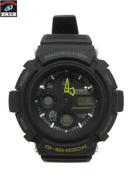 G-SHOCK AW-571BM-1T AW-571BM-1T メンインブラック2 ガウスマン ガウスマン クォーツ G-SHOCK【中古】[▼], カサイシ:6060ceeb --- officewill.xsrv.jp