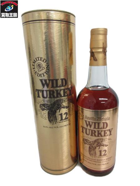 WILD TURKEY 12年 ゴールドラベル 750ml 50.5度【中古】