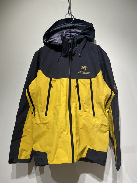 ARC'TERYX×BEAMS/Theta AR Jacket/XS/イエロー【中古】