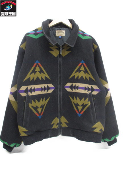 PENDLETON/HIGH GRADE WESTERN WEAR/ネイティブウールジャケット/OLD【中古】