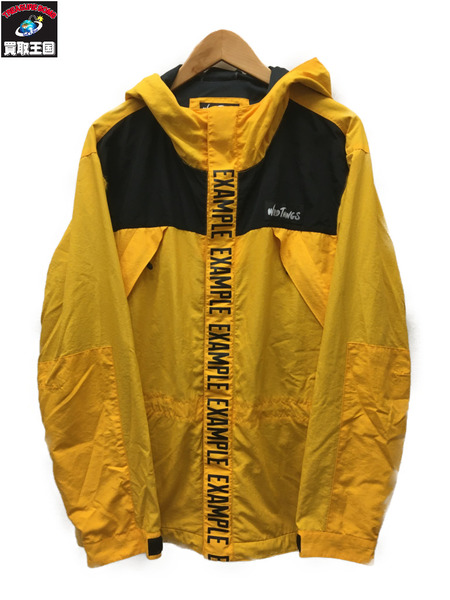 WILDTHINGS×EXAMPLE 19SS ナイロンジャケット (XL) イエロー【中古】