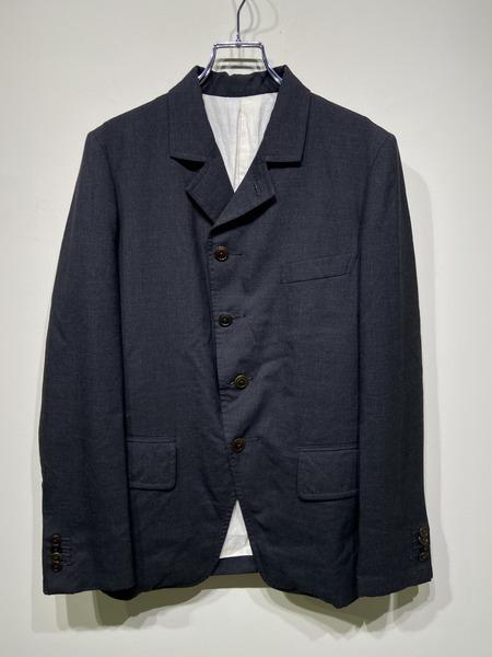 The crooked tailor/4Bウールジャケット/38/グレー【中古】[▼]