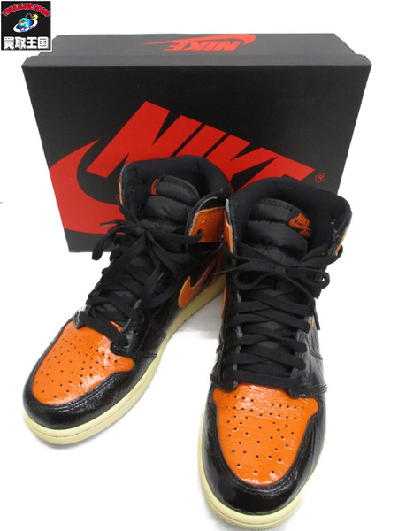 NIKE AIR JORDAN 1 SHATTERED BACKBOARD 3.0 RETRO HIGH【中古】