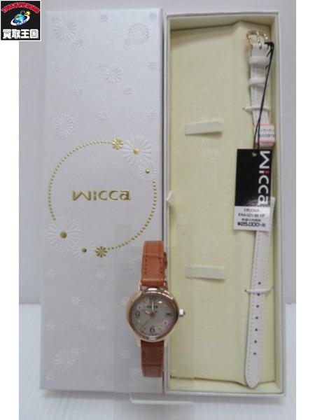 Wicca 腕時計 替えベルト付き【中古】