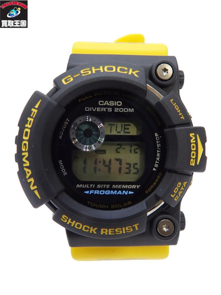 G-SHOCK イルクジ フロッグマン イルクジ G-SHOCK GW-204K 黄色 GW-204K イエロー【中古】, RiNG online store:5472a033 --- officewill.xsrv.jp