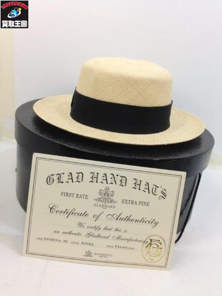 GLAD HAND HAT NATURAL ※参考定価38000円【中古】