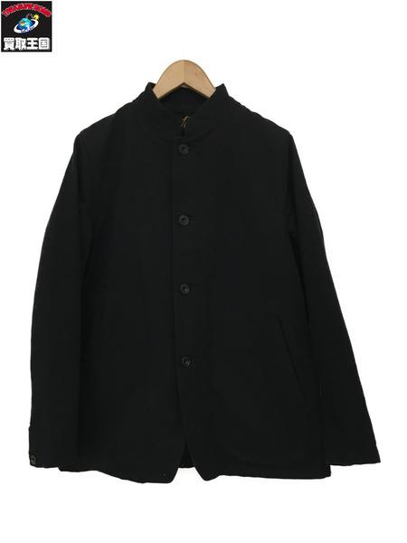 Needles スタンドカラージャケット ウール 黒 S【中古】