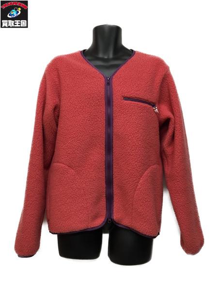 Battenwear POLARTEC Lodge Cardigan in Pink (M)【中古】