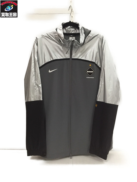 NIKE×FCRB WARM UP JACKET ウィンドブレーカー (XL)【中古】[▼]
