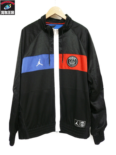 JORDAN×PARIS SAINT-GERMAIN/PSG/LOGO JACKET/BQ8370-011/XXL【中古】