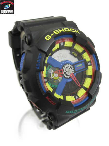 G-SHOCK DEE AND GA-110DR-1AJR RICKYモデル GA-110DR-1AJR DEE RICKYモデル クォーツ腕時計【中古】[▼], 液晶保護フィルムとカバーケース卸:1b3d207d --- officewill.xsrv.jp