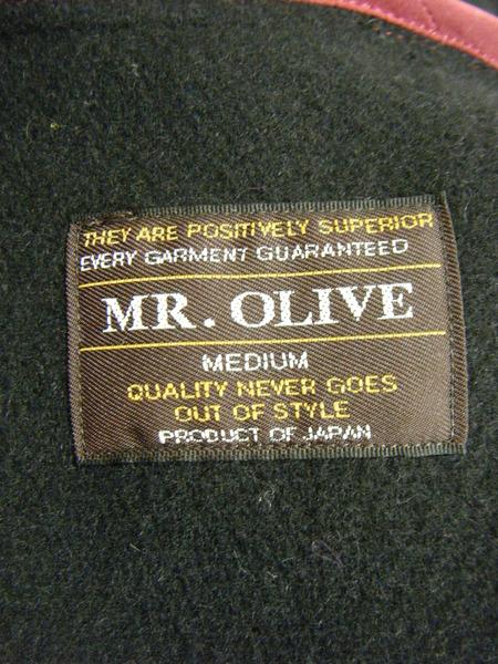 MR OLIVE ウールコート M 黒n0wmNv8