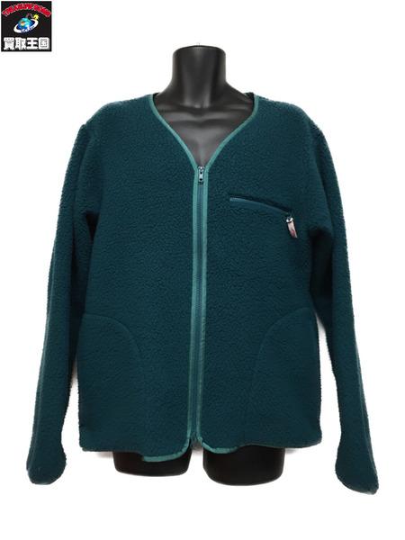 Battenwear POLARTEC Lodge Cardigan in Green (M)【中古】