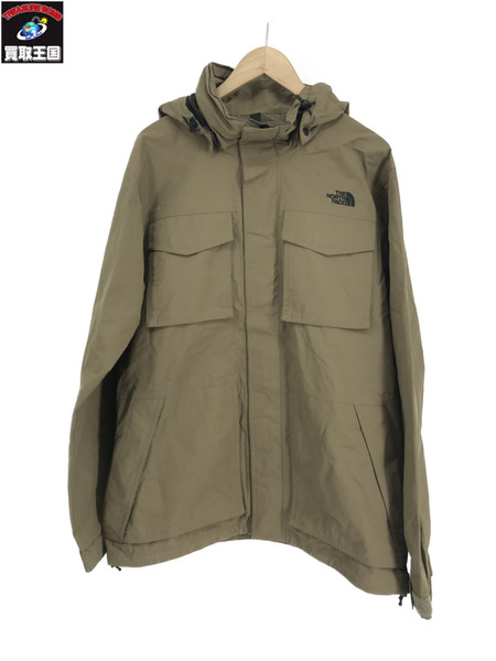 THE NORTH FACE NP15819 MAKALU JACKET カーキ XL【中古】