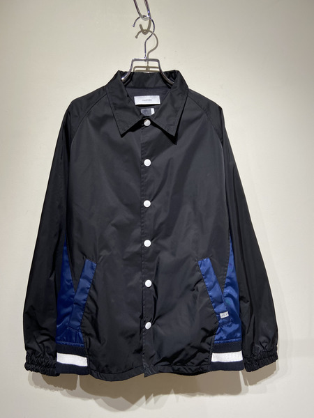 FACETASM/16SS/Stadium Coach Jacket/4/BLK【中古】