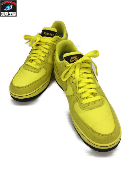 NIKE AIR FORCE 1 GTX GORE-TEX YELLOW 26.5cm US8.5【中古】