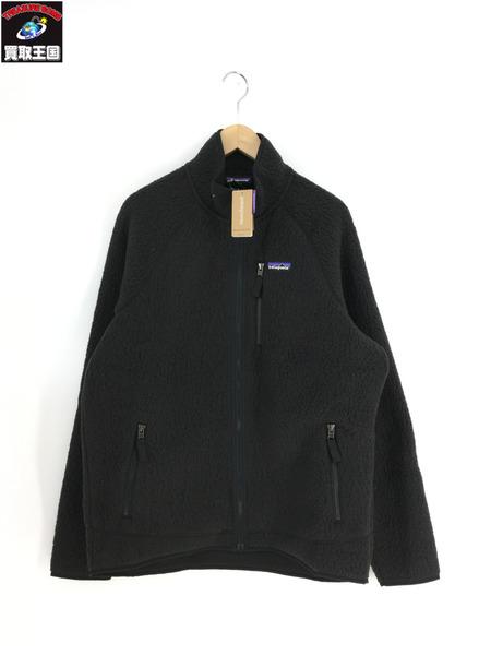 patagonia レトロパイルジャケット(L)ネイビー【中古】