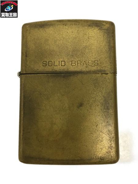 Zippo SOLID BRASS 1931-1992【中古】